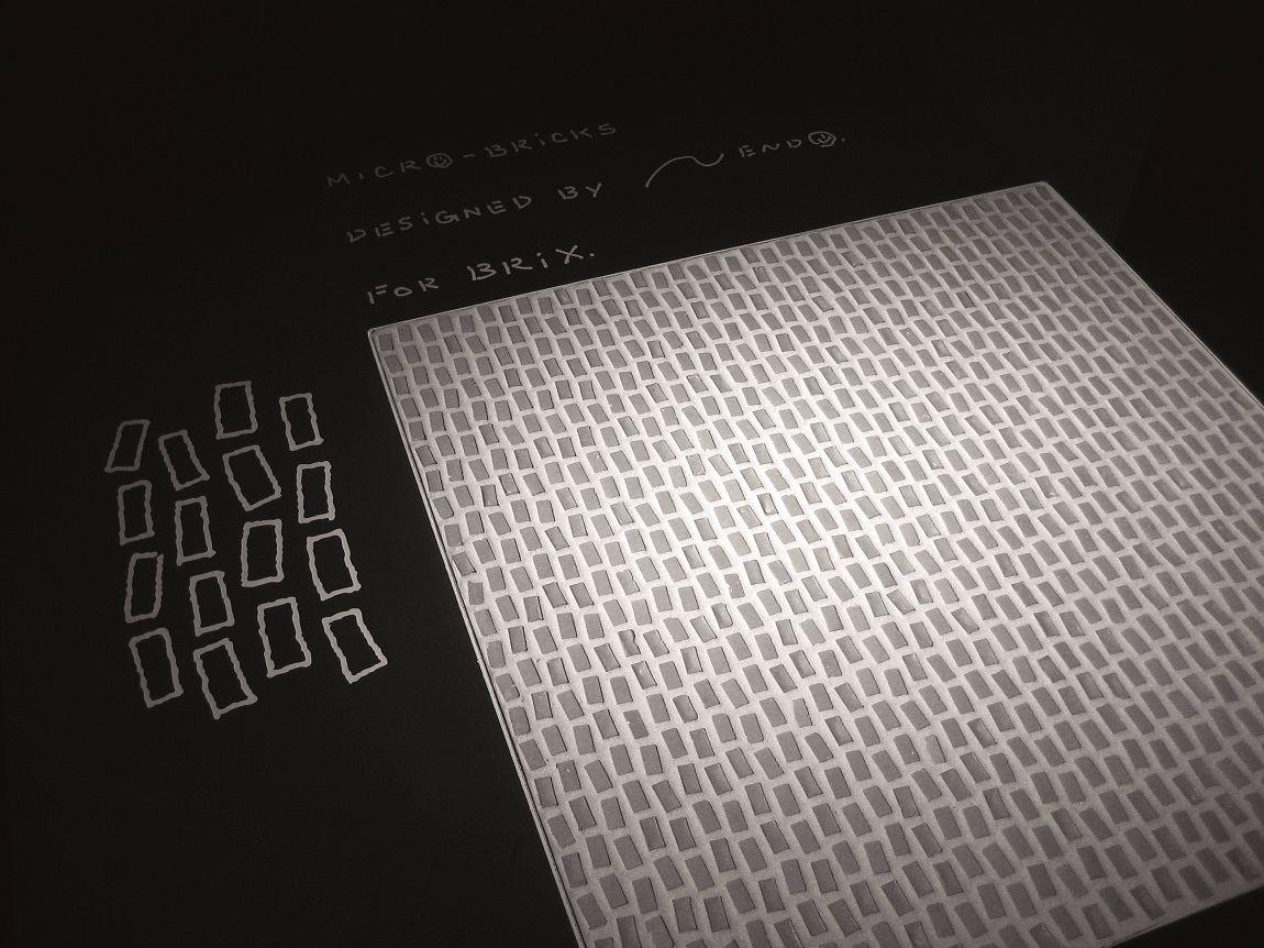 Micro-Brick de BRIX  Design Nendo