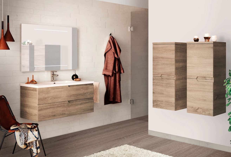 Des meubles gain de place concept bain for Moisissure meuble bois