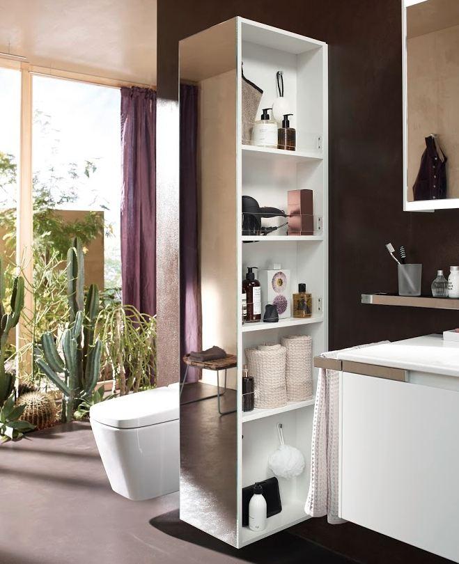 colonne de salle de bain burgbad