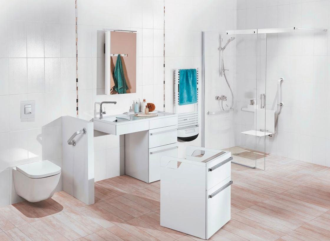 Meubles Salle De Bain Personnes Handicapées une salle de bains accessible - concept bain