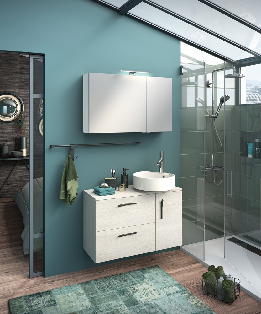 ilot de delpha une nouvelle oasis dans la salle de bains concept bain. Black Bedroom Furniture Sets. Home Design Ideas