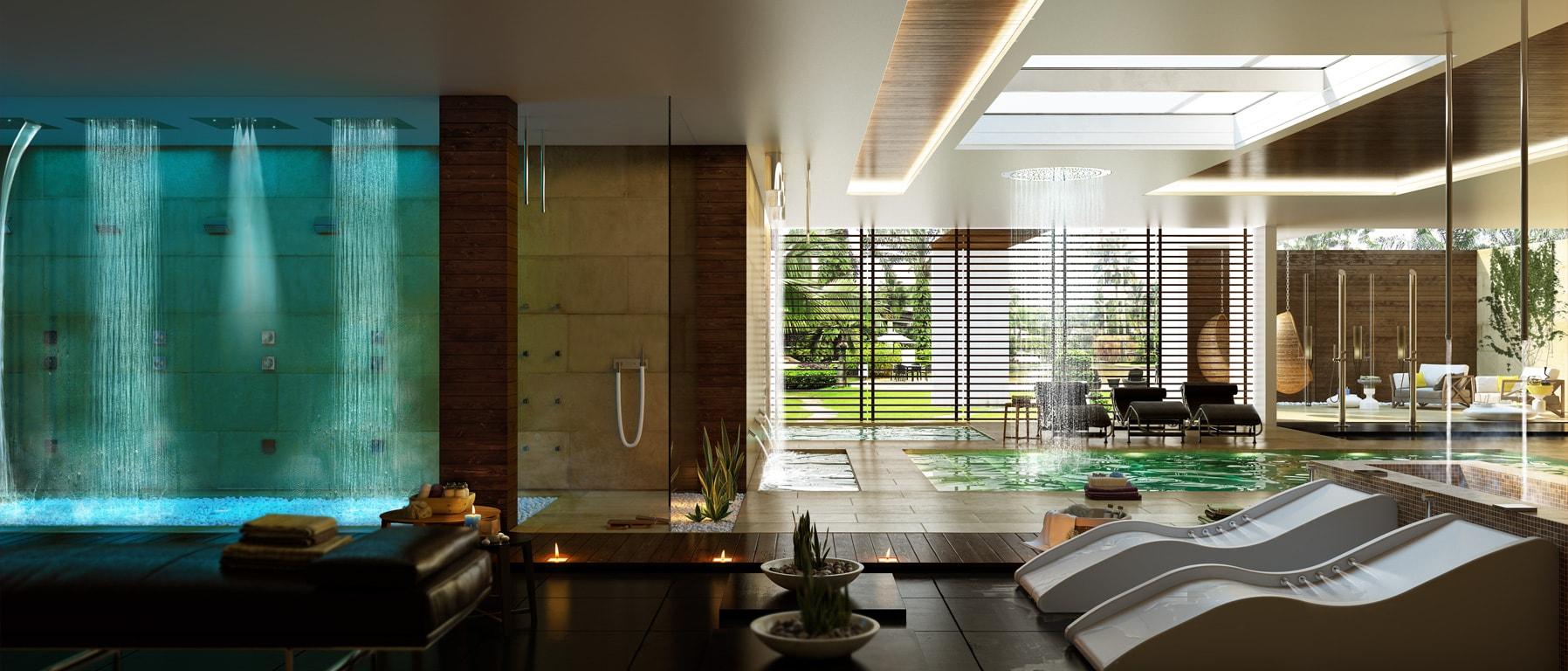 Programme Spa-Home-Wellness de Bossini - Remise en forme en salle de bain