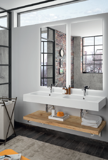 Spirit de salgar des meubles pour la salle de bain for Meuble nouveau concept