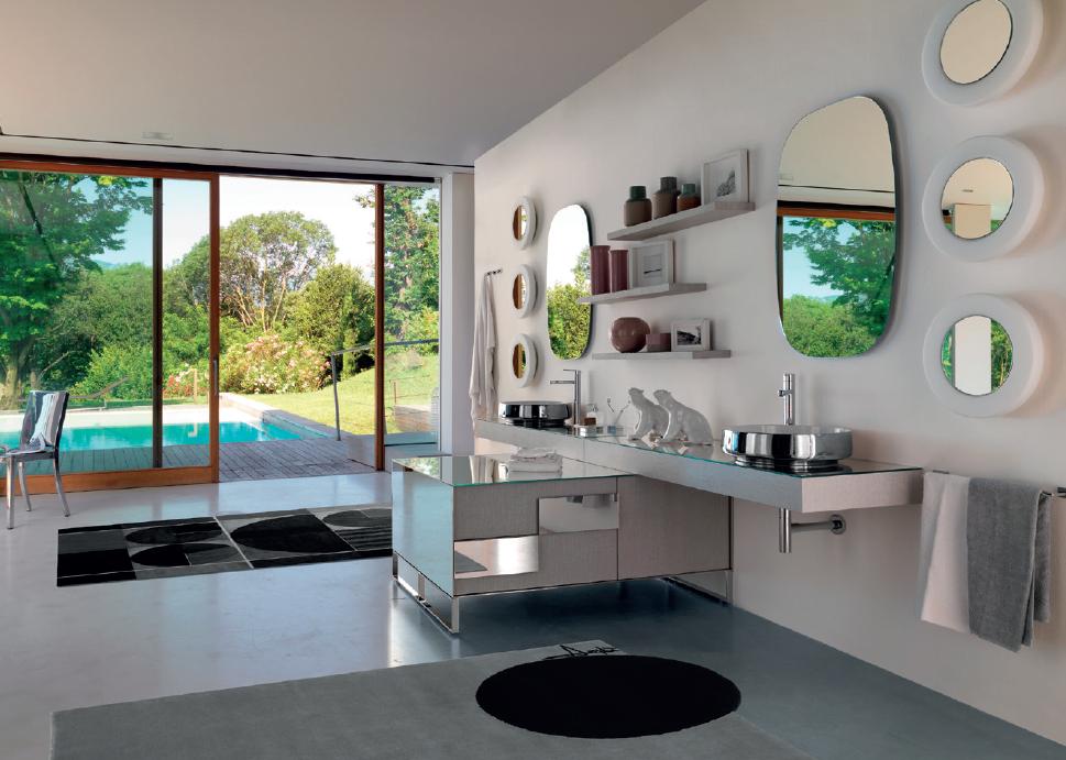 ergonomie des meubles de la salle de bain