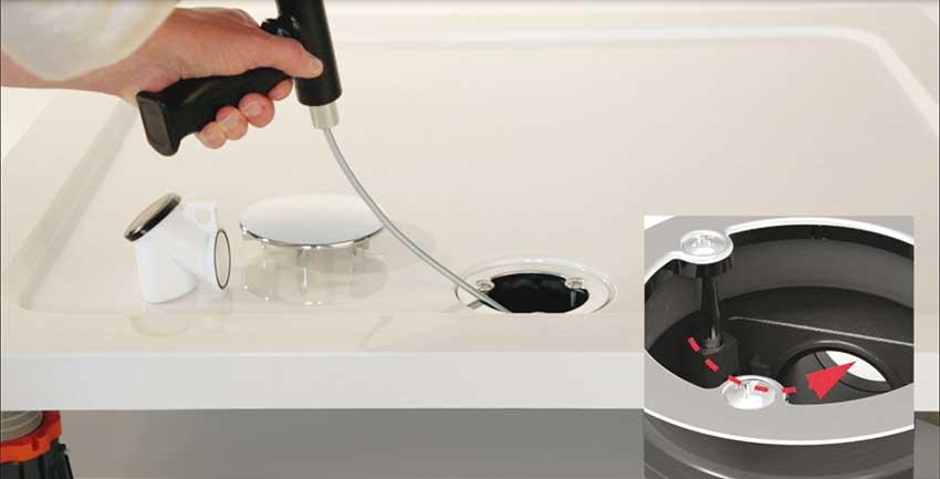 valentin pr sente une bonde de douche pour receveurs extra. Black Bedroom Furniture Sets. Home Design Ideas