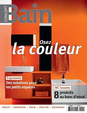 Couverture du magazine Concept Bain numéro 13