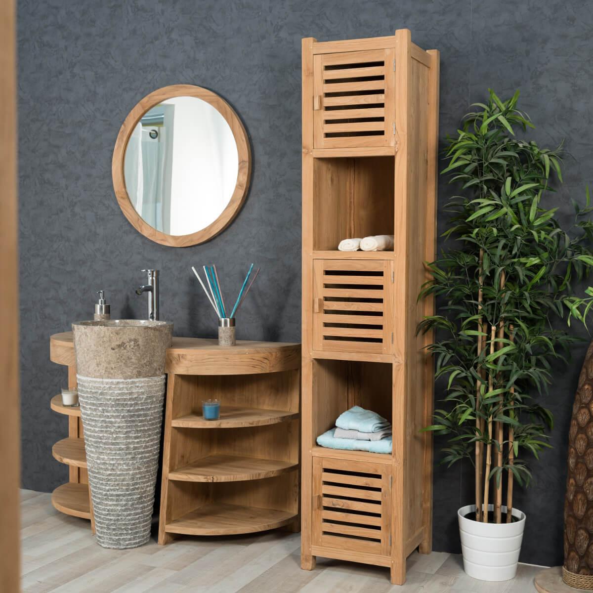 Modèles de colonnes pour une belle salle de bains - Concept bain