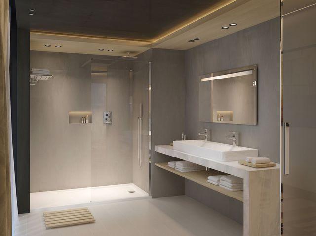 Les nouveaux matériaux dans la salle de bains - Concept bain
