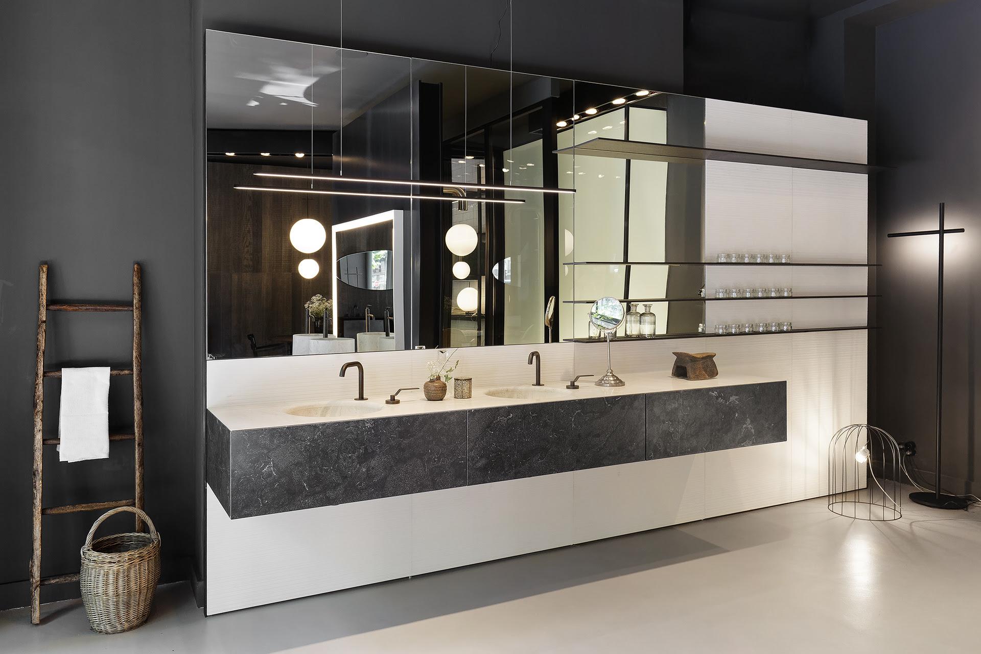 Boffi : un nouvel écrin pour le bain à Paris - Concept bain