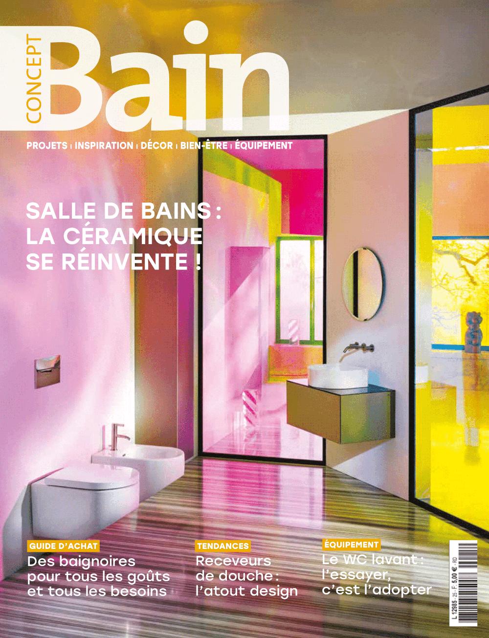 Couverture du dernier numéro Concept Bain